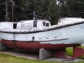 Historic Life Boat at Umpqua River Lighthouse