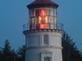 Umpqua River Lighthouse at dusk