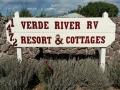 Verde River RV Resort Sign