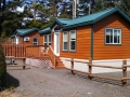 Rental cabin at Waldport / Newport KOA