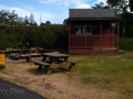 Social area at Waldport / Newport KOA