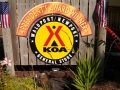 Waldport / Newport KOA Sign