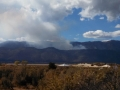 Prescribed burn at Little Valley, near Washoe Lake SP, NV