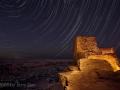Star Trails Over Wukoki Ruin - 2008
